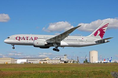 Qatar Airways Boeing 787-8 Dreamliner A7-BCD (msn 38322) PAE (Nick Dean). Image: 912548.