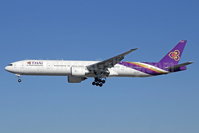 Thai Airways International Boeing 777-3AL ER HS-TKK (msn 41520) LAX (Michael B. Ing). Image: 910001.
