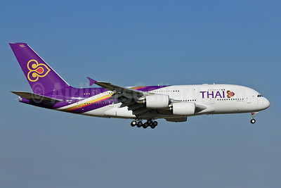 Thai Airways International Airbus A380-841 F-WWAO (HS-TUA) (msn 087) TLS (Eurospot). Image: 909359.