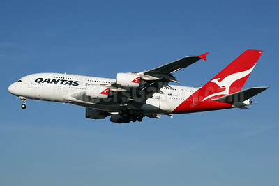 QANTAS Airways Airbus A380-842 VH-OQG (msn 047) LHR (SPA). Image: 927017.