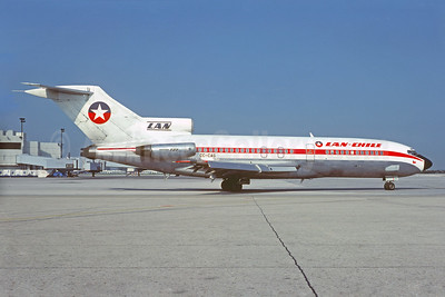 LAN-Chile Boeing 727-116 CC-CAG (msn 19811) MIA (Jacques Guillem Collection). Image: 927400.
