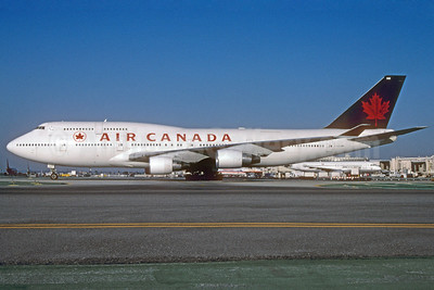 Air Canada Boeing 747-433 C-GAGM (msn 25074) LAX (Roy Lock). Image: 912084.