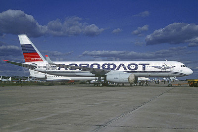 Aeroflot Russian International Airlines Tupolev Tu-204-100C RA-64009 (msn 1450744264009) ZHU (Christian Volpati Collection). Image: 921345.