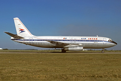 Air Inter operated a fleet of 11 Dassault Mercures, 1975 to 1995
