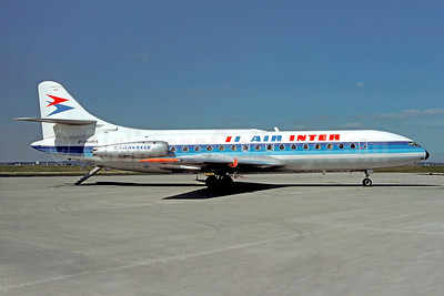 Air Inter Sud Aviation SE.210 Caravelle 3 F-BHRS (msn 054) ORY (Christian Volpati). Image: 92081.