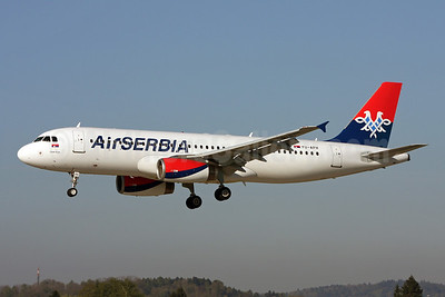 Air Serbia's first Airbus A320