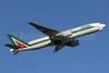 Alitalia (2nd) (Compagnie Aerea Italiana) Boeing 777-243 ER I-DISU (msn 32858) NRT (Michael B. Ing). Image: 906942.
