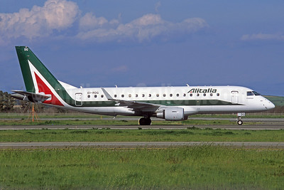 Alitalia CityLiner Embraer ERJ 170-200 (ERJ 175) EI-RDG (msn 17000338) BLQ (Jacques Guillem Collection). Image: 925887.