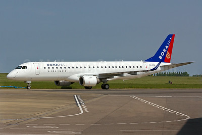 Borajet's first Embraer 190