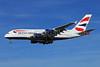 British Airways Airbus A380-841 F-WWAY (G-XLEB) (msn 121) TLS (Eurospot). Image: 913630.