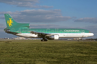 Caledonian Airways (2nd) Lockheed L-1011-385-1-14 TriStar 100 G-BBAF (msn 1093) LGW (Christian Volpati Collection). Image: 921676.
