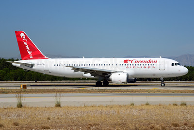 Corendon Airlines (SmartLynx Airlines) Airbus A320-211 YL-LCJ (msn 279) AYT (Ton Jochems). Image: 913692.