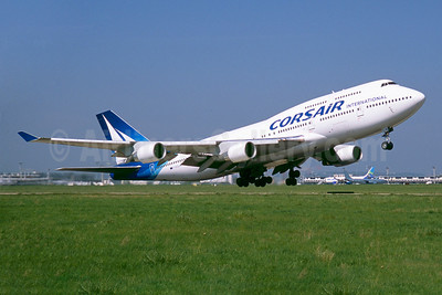 Corsair International Boeing 747-422 F-HSUN (msn 26880) ORY (Jacques Guillem). Image: 922615.