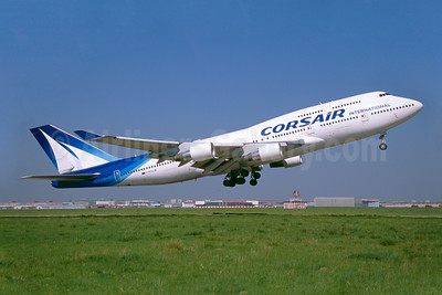 Corsair International Boeing 747-422 F-HSUN (msn 26880) ORY (Jacques Guillem). Image: 922616.