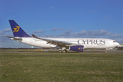 Cyprus Airways Airbus A330-243 5B-DBS (msn 505) JNB (Christian Volpati Collection). Image: 926074.