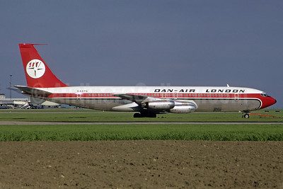 Dan-Air London (Dan-Air Services) Boeing 707-321 G-AZTG (msn 17600) (Christian Volpati Collection). Image: 921648.