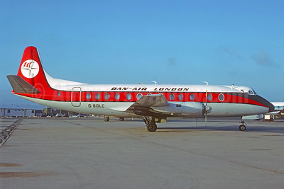 Dan-Air London (Dan-Air Services) Vickers Viscount 839 G-BGLC (msn 436) (Christian Volpati Collection). Image: 921655.