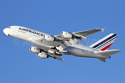 Air France Airbus A380-861 F-HPJE (msn 052) LAX (Michael B. Ing). Image: 911325.
