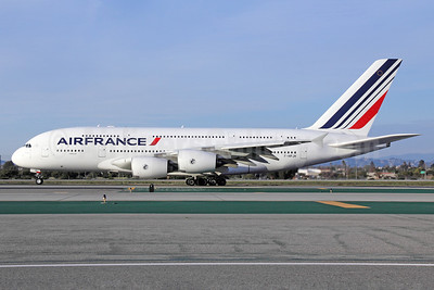 Air France Airbus A380-861 F-HPJH (msn 099) LAX. Image: 911326.