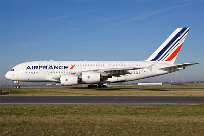 Air France Airbus A380-861 F-HPJE (msn 052) CDG (Ole Simon). Image: 911997.