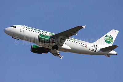 Germania Fluggesellschaft Airbus A319-111 D-AHIL (msn 3589) (See You in Kassel - Kassel Airport) PMI (Javier Rodriguez). Image: 922663.