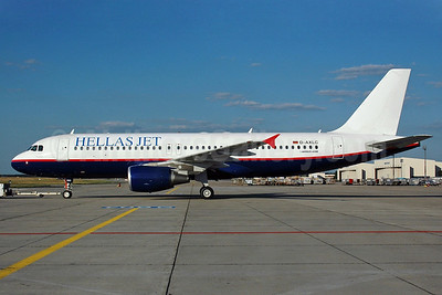Hellas Jet (Star German Airlines) Airbus A320-214 D-AXLC (msn 1564) (USA 300 Airlines colors) FRA (Bernhard Ross). Image: 924697.