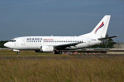 Hermes Airlines Boeing 737-5L9 SX-BHR (msn 29234) CDG (Rob Finlayson). Image: 928164.