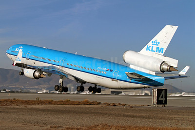 KLM Royal Dutch Airlines McDonnell Douglas MD-11 PH-KCD (msn 48558) SFO (Mark Durbin). Image: 921264.