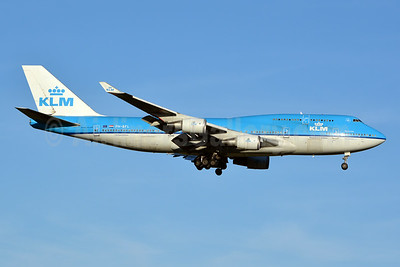 KLM Royal Dutch Airlines Boeing 747-406 PH-BFL (msn 25356) JFK (Jay Selman). Image: 402401.