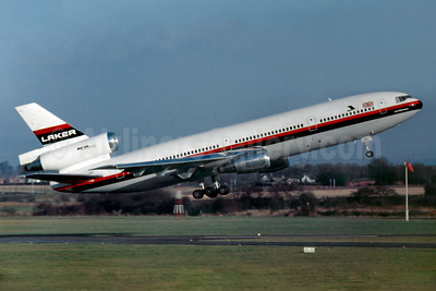 Laker Airways (UK) McDonnell Douglas DC-10-10 G-AZZC (msn 46905) BHX (SM Fitzwilliams Collection). Image: 927669.