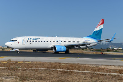 Luxair-Luxembourg Airlines (XL Airways France) Boeing 737-8Q8 WL F-HJUL (msn 38819) PMI (Ton Jochems). Image: 923339.