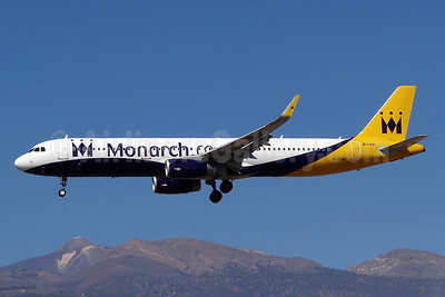 Monarch Airlines (Monarch.co.uk) Airbus A321-231 WL G-ZBAE (msn 5606) TFS (Paul Bannwarth). Image: 922290.