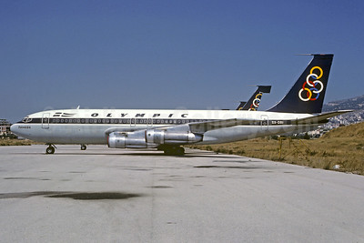 Olympic Airways (1st) Boeing 720-051B SX-DBI (msn 18355) ATH (Christian Volpati Collection). Image: 927592.