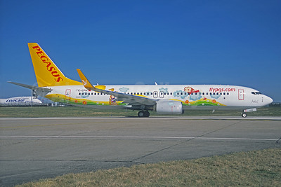 Designed by Ada E, Pegasus Airlines new logo jet