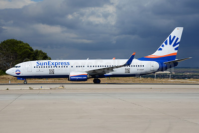 SunExpress Airlines (Germany) Boeing 737-8AS WL D-ASXF (msn 33558) PMI (Ton Jochems). Image: 920726.