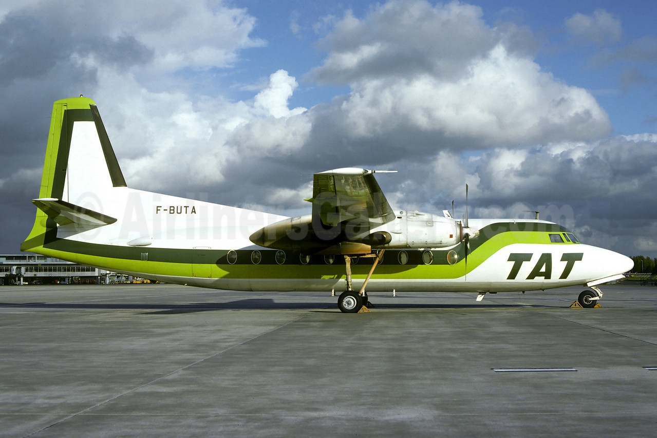 TAT (Touraine Air Transport) (1st) Fokker F.27 Mk. 200 F-BUTA (msn 10229) ORY (Christian Volpati). Image: 902452.