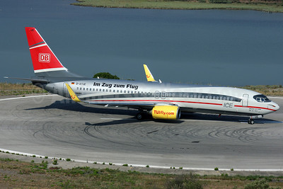 TUIfly (TUIfly.com) (Germany) Boeing 737-8K5 WL D-ATUE (msn 34686) (DB Air One) CFU (Antony J. Best). Image: 920788.