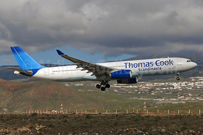Thomas Cook Airlines Scandinavia Airbus A330-343X OY-VKG (msn 349) TFS (Paul Bannwarth). Image: 922326.