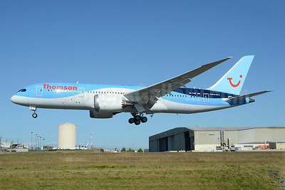 Thomson's sixth Boeing 787-8, delivered on July 15, 2014