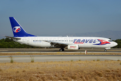 Travel Service Airlines (Czech Republic) Boeing 737-86N OK-TVD (msn 28595) AYT (Ton Jochems). Image: 920774.