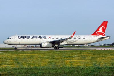 Turkish Airlines Airbus A321-231 WL TC-JSK (msn 5663) (Sharklets) LIS (Pedro Baptista). Image: 921955.