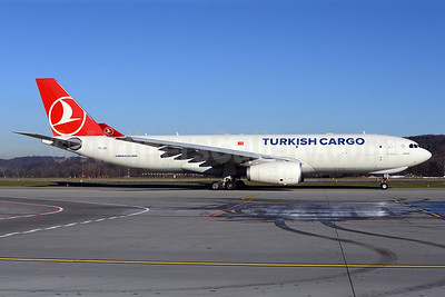 Turkish Cargo (Turkish Airlines) Airbus A330-243F TC-JDS (msn 1418) ZRH (Rolf Wallner). Image: 921357.