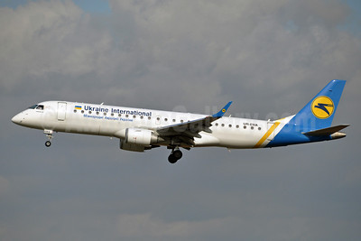 Ukraine International Airlines Embraer ERJ 190-100LR UR-EMA (msn 19000494) BRU (Karl Cornil). Image: 920800.