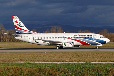 Air Bucharest Boeing 737-3L9 YR-TIB (msn 27924) BSL (Paul Bannwarth). Image: 910486.