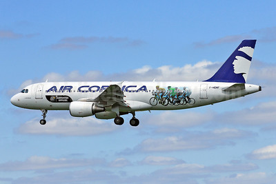 Air Corsica Airbus A320-214 F-HDMF (msn 4463) (100th Tour de France Official Supporter) TLS (Eurospot). Image: 912097.