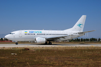 Air Onix Airlines Boeing 737-5Q8 UR-KRD (msn 26324) AYT (Ton Jochems). Image: 909406.