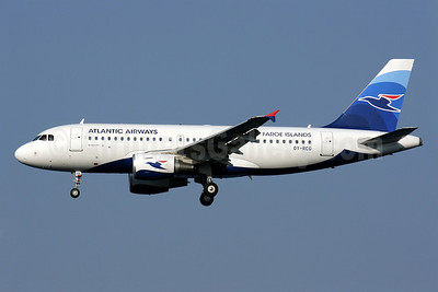 Atlantic Airways-Faroe Islands Airbus A319-115 OY-RCG (msn 5079) CFU (Antony J. Best). Image: 913185.