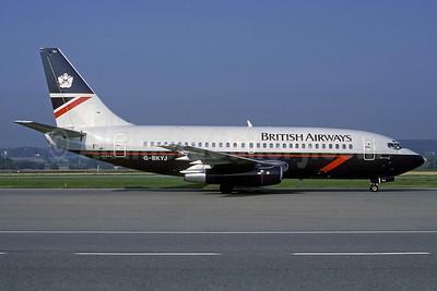 British Airways Boeing 737-236 G-BKYJ (msn 23168) ZRH (Rolf Wallner). Image: 913224.