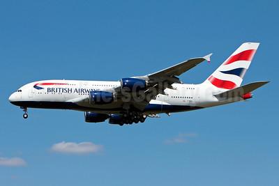 British Airways Airbus A380-841 F-WWSK (G-XLEA) (msn 095) TLS (Olivier Gregoire). Image: 912731.