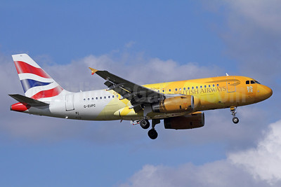 British Airways Airbus A319-131 G-EUPC (msn 1118) (Our moment to shine - 2nd London Olympics logojet -